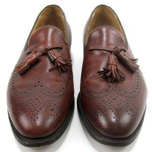 Johnston & Murphy Wingtip Brogue Loafers Sz 10.5 D